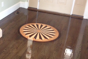 Wood Inlay Installation Suffolk County
